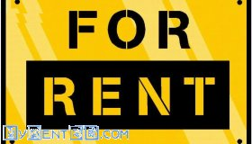 flat rent for small family or student
